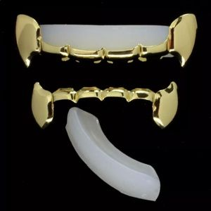 Other - Vampire 14Kt Top and Bottom Bar Grillz/ Dracula
